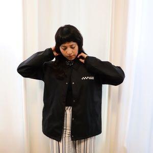 Vans Black Windbreaker Jacket